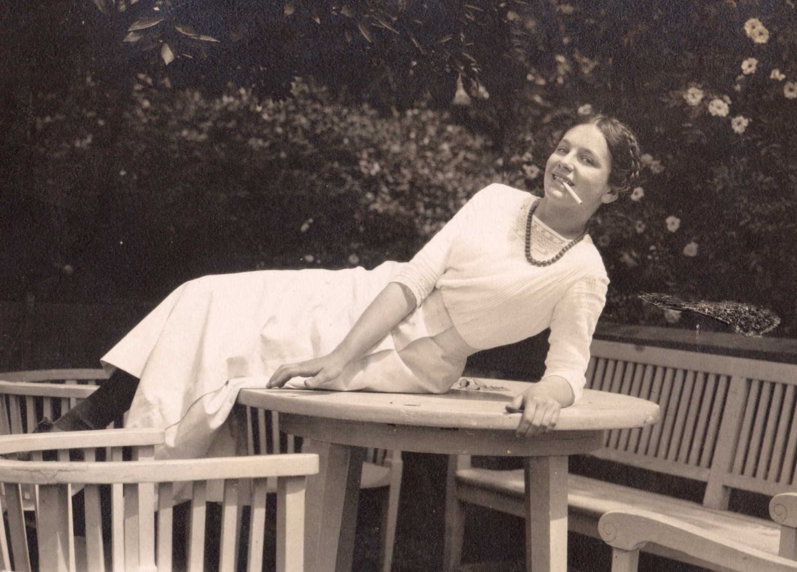 Eleonora als Teenager in Berlin, Sommer 1914, © Privatbesitz