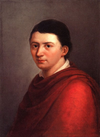 The Cultural Philosopher Friedrich Schlegel. Franz Gareis, 1801.
