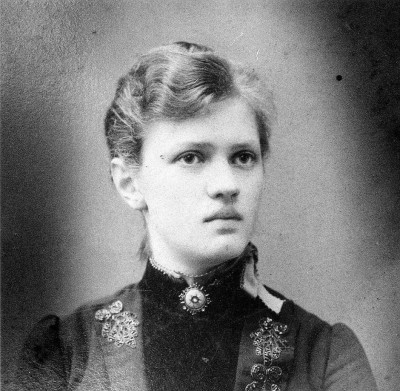 Marianne Weber as a teenager circa 1885. © Repros Horst Biere / Marianne-Weber-Institut.
